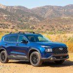 El Santa Fe 2022 de Hyundai agrega un nuevo acabado XRT de apariencia robusta