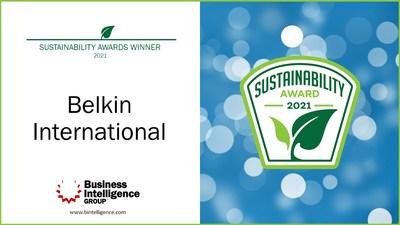 Belkin International recibió el premio al Liderazgo en Sostenibilidad