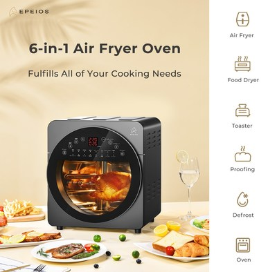 Epeios 6-in-1 air fryer oven